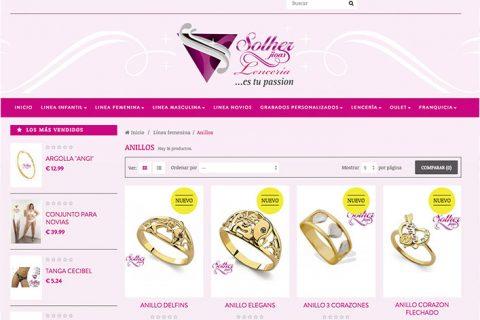 Tienda Online Solher Jioas Lencería Internacional